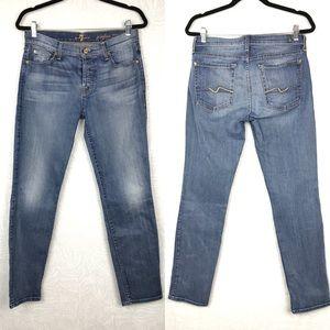 7FAMK josefina skinny boyfriend jeans button fly